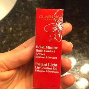New in package clarins red berry lip oil